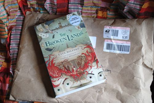 The Broken Lands by Kate Milford, Andrea Offermann