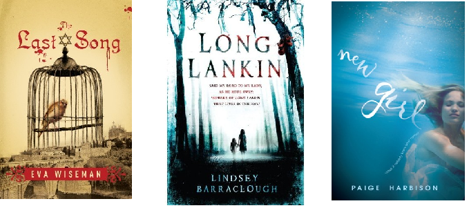 The Last Song by Eva Wiseman,  Long Lankin by Lindsey Barraclough, New Girl by Paige Harbison