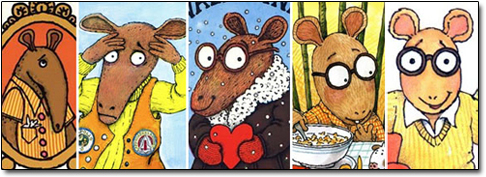 Changes in Marc Brown's Arthur