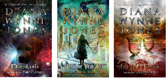 Dogsboy, A Tale of Time City, and Fire and Hemlock by Diana Wynne Jones